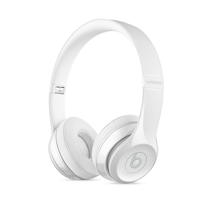 Beats Solo3 Gloss White Wireless On-Ear Headphones