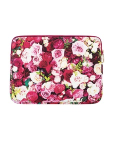 Kate Spade New York Printed Sleeve Photographic Roses Macbook Air/Pro 13