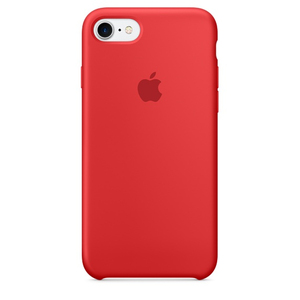 Apple Silicone Case Red iPhone 7
