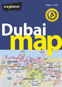 Dubai Map 4Th Ed