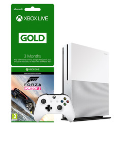 Xbox One S 500GB + Forza Horizon 3 + 3 Months Live Gold Membership