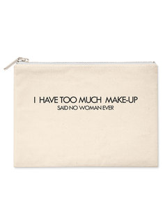 Savethepeople Too Much Make Up Natural Make-Up Bag