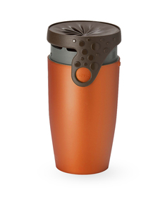 Twizz Neolid Slow Travel Mug Copper/Brown