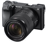 Sony Alpha a6300 Mirrorless Digital Camera with 18-135mm Lens Black