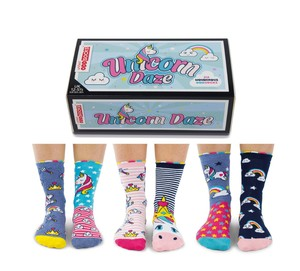 United Oddsocks Unicorn Daze Women's Socks [Size 5.5-12 UK]