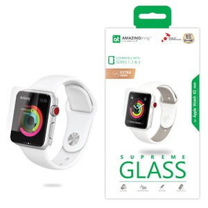 Amazing Thing Crystal Screen Protector for Apple Watch Series 3/2/1 42mm
