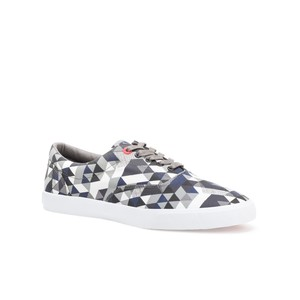 Bucketfeet Delta Charcoal Low Top Canvas Lace Men's Shoes