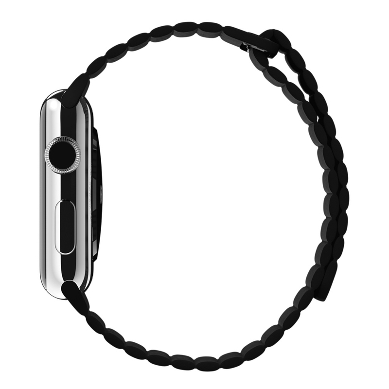 Apple Watch Black Leather Loop 42mm Large