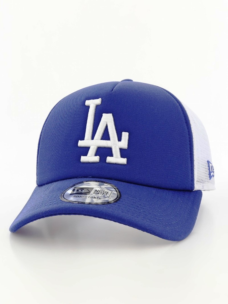 07a8477e8 New Era Clean Trucker LA Dodgers Blue/White Cap
