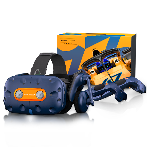 226f21414910 HTC Vive Pro Virtual Reality Headset Full Kit McLaren Edition