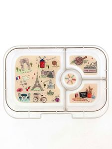 Yumbox Tray Eat Well Design Lunch Kit [4 Compartments]