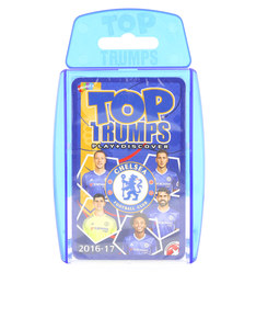 TOP TRUMPS CHELSEA FC CARD GAME ENGLISH & ARABIC