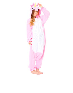 Pink Unicorn Kigurumi Pink Fleece Costume