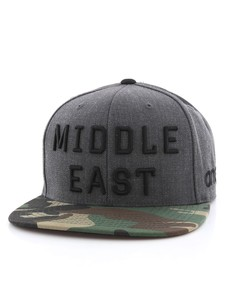 02e55746a80 One8 Middle East English Flat Brim Snapback Unisex Cap Osfa