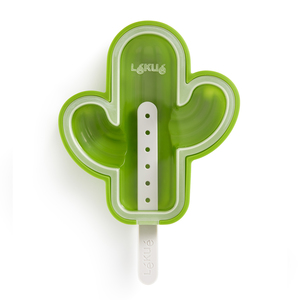 Lekue Cactus Popsicle Mold Green