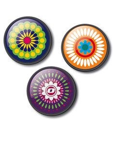 Nikidom Mandala Pins [Pack of 3]