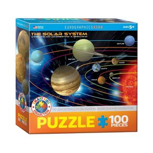 Eurographics The Solar System 100 Pcs Jigsaw Puzzle