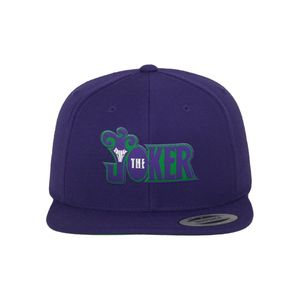 Merchcode Joker Snapback Men's Cap Purple
