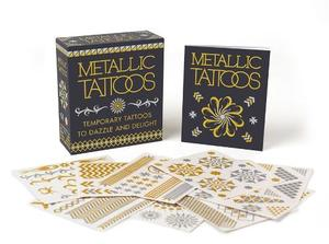 Metallic Tattoos: 15 Temporary Tattoos to Dazzle and Delight