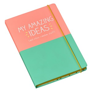Happy Jackson My Amazing Ideas Notebook
